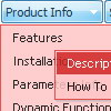 Javascript Slide Down Menus Free Mouseover Dropdown Frame Template