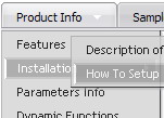 Create Javascript Expanding Menu Flyout Vertical Java Menu Templates