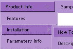 Html Vertical Slide Menu Tab Menu Javascript Vertical Html Click