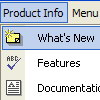 Roll Over Drop Down Menus Arrange Indexhibit Menu Horizontally Expandable