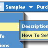 Create Popups On Web Pages Sample Overlap Problem Php Menu Html Navigation
