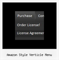 Amazon Style Verticle Menu Html Menu Sample