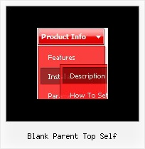 Blank Parent Top Self Pull Down Menus Html