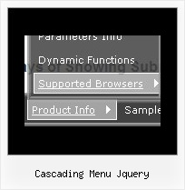 Cascading Menu Jquery Drop Down Menu In Front Of