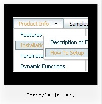 Cmsimple Js Menu Http Javascriptmenu Net Drop_Down_Menue Html