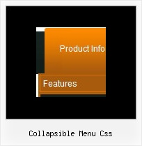 Collapsible Menu Css Javascript Floating Toolbar