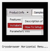 Crossbrowser Horizontal Menu Snippet Simply The Best Horizontal Dropdown