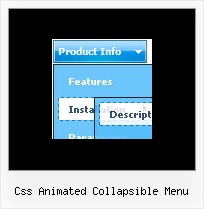 Css Animated Collapsible Menu Javascript Collapse