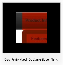 Css Animated Collapsible Menu Movable Javascript Layers