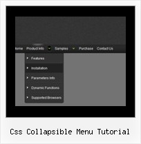 Css Collapsible Menu Tutorial Tabbed Dhtml Drop Downs