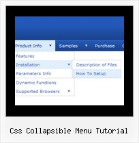 Css Collapsible Menu Tutorial Java Movable Tree