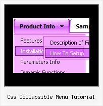 Css Collapsible Menu Tutorial Dhtml Codes Category