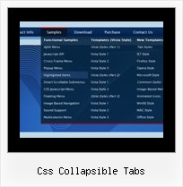 Css Collapsible Tabs Javascript Drop Down Menu Easy