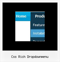 Css Rich Dropdownmenu Downloadable Javascript Drop Down Menu