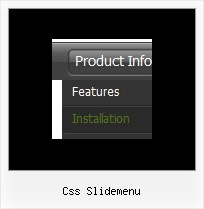 Css Slidemenu Javascript Side Bar