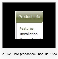 Deluxe Dmobjectscheck Not Defined Script Of Mouse Over Menu In Javascript