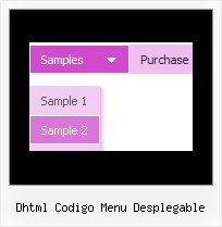 Dhtml Codigo Menu Desplegable Cross Frame Drop Down Rollover Menus