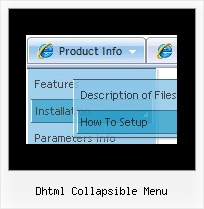 Dhtml Collapsible Menu Cool Rollover Menu