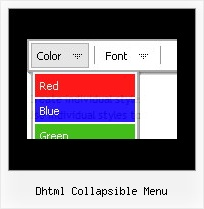 Dhtml Collapsible Menu Html Form Drop Down