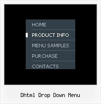 Dhtml Drop Down Menu Menu Paginas Web