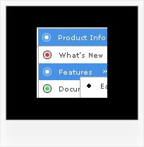 Dhtml Dropdown Overlapping Page Text Javascript Horizontal Cascade Menu