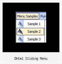 Dhtml Sliding Menu Dhtml Drop Down Menu Netscape