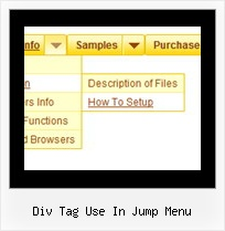 Div Tag Use In Jump Menu Create Tab Menu