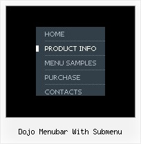 Dojo Menubar With Submenu Drag And Drop Js