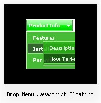 Drop Menu Javascript Floating Creating Dynamic Menus