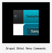 Drupal Dhtml Menu Commands Css Navigation Bar Examples