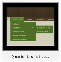 Dynamic Menu Api Java Css Dhtml Cross Browser Xp Menu