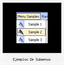 Ejemplos De Submenus Purchase Cascading Menu