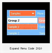 Expand Menu Code 2010 Drop Down Menu On Mouse Over