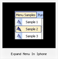 Expand Menu In Iphone Expandable Menu Icons