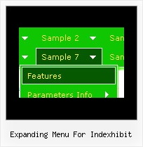 Expanding Menu For Indexhibit Menu Dhtml Frame Fade