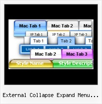 External Collapse Expand Menu Javascript Menus
