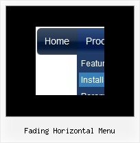 Fading Horizontal Menu Java Menu Horizontal