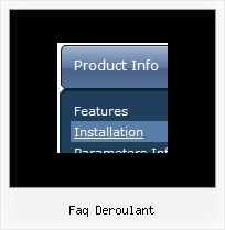 Faq Deroulant Collapsible Menus Samples
