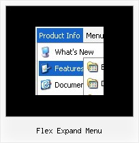 Flex Expand Menu Script Java Menu