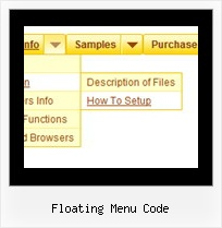 Floating Menu Code Html Dropdown Menus