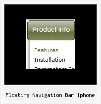 Floating Navigation Bar Iphone Mouse Over Source Code For Multiple Mouseovers