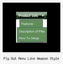 Fly Out Menu Like Amazon Style Menus En Java Script