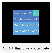 Fly Out Menu Like Amazon Style The Html Code For Drop Downs Menus