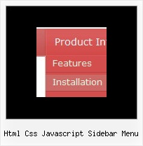 Html Css Javascript Sidebar Menu Create Drop Down In Html