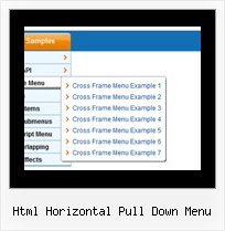 Html Horizontal Pull Down Menu Menu Slide Dhtml