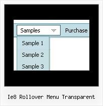 Ie8 Rollover Menu Transparent Absolute Menu Position Movable And Floatable