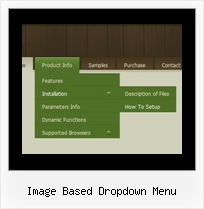 Image Based Dropdown Menu Javascript Menu Floating