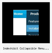 Indexhibit Collapsible Menu Problem Firefox Dynamic Creating Drop Down Menus