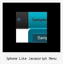 Iphone Like Javascript Menu Horizontal Menu Frame