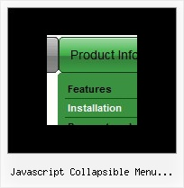 Javascript Collapsible Menu Unordered List Codes Dhtml